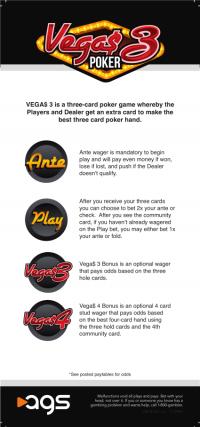 vegas 3 poker rack card
