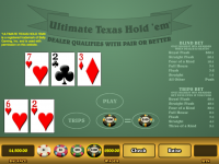 ultimate texas hold em