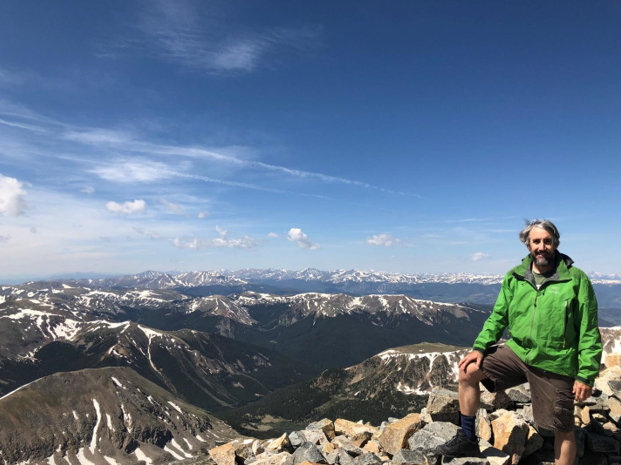 Atop Grays Peak