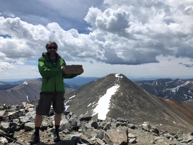 Torreys Peak, with Grays Peak in the background
