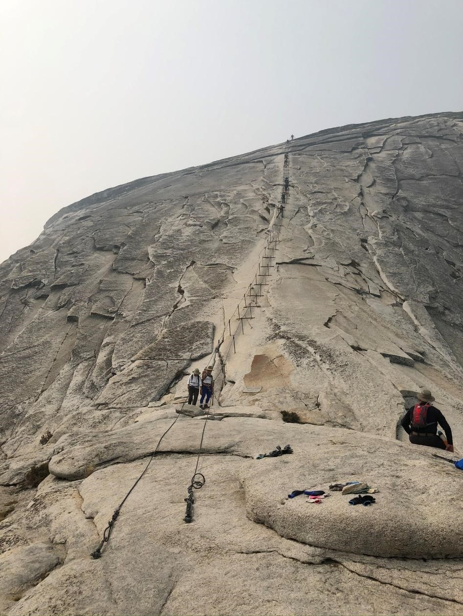 Half Dome - portion