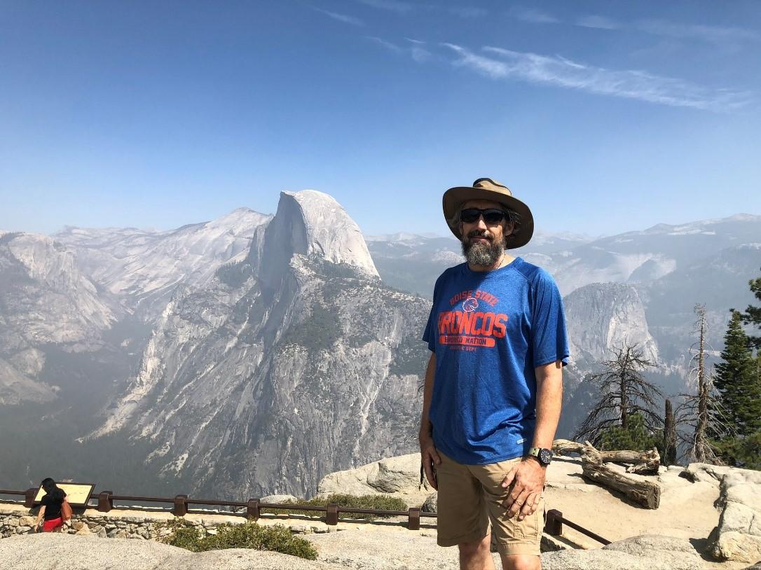 Glacier Point, looking at Half Dome