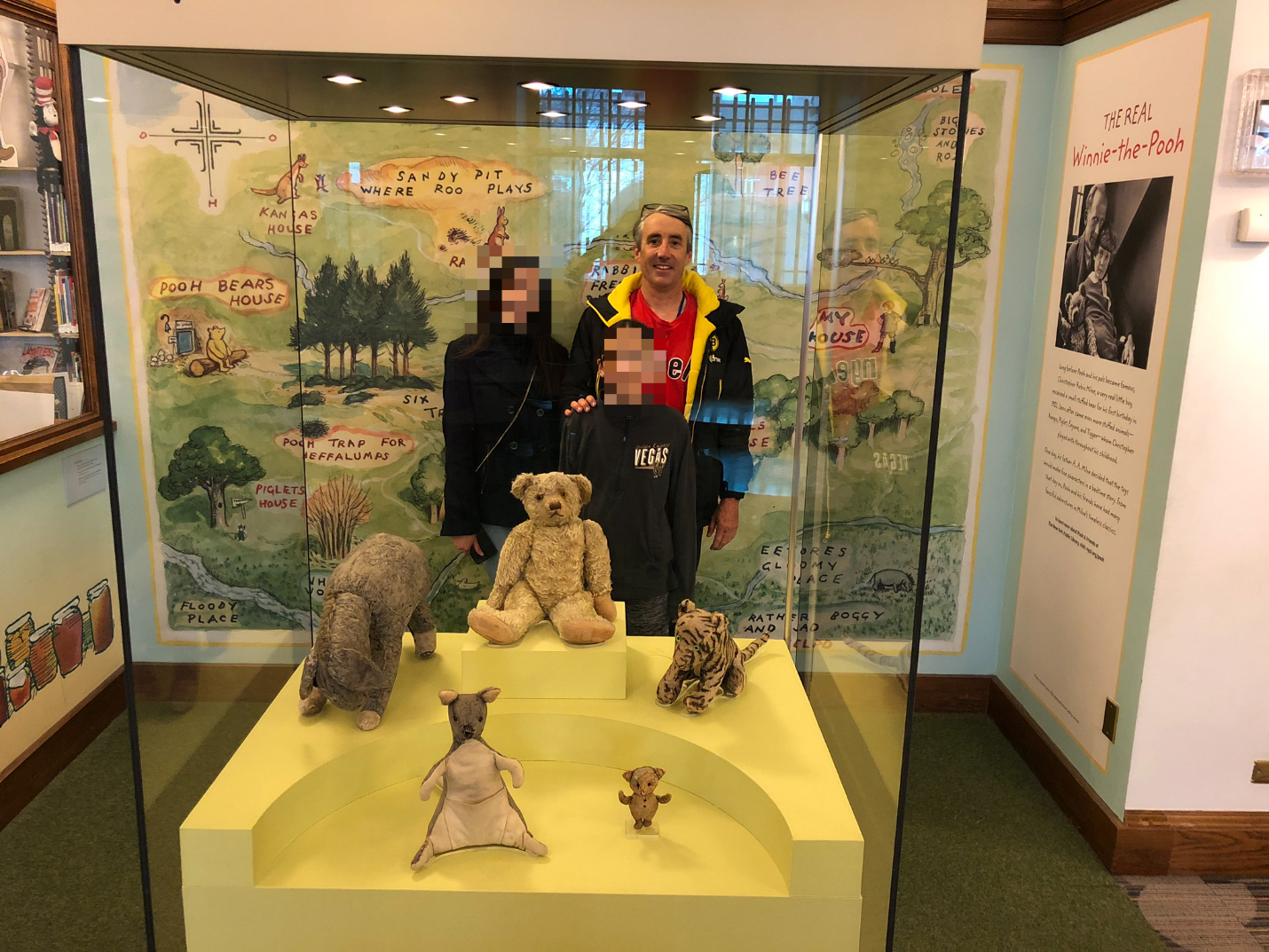 The original Winnie the Pooh toys