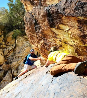 Personal climb