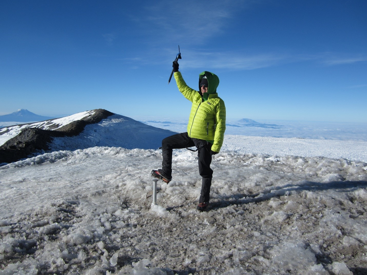 Atop Mount Rainier