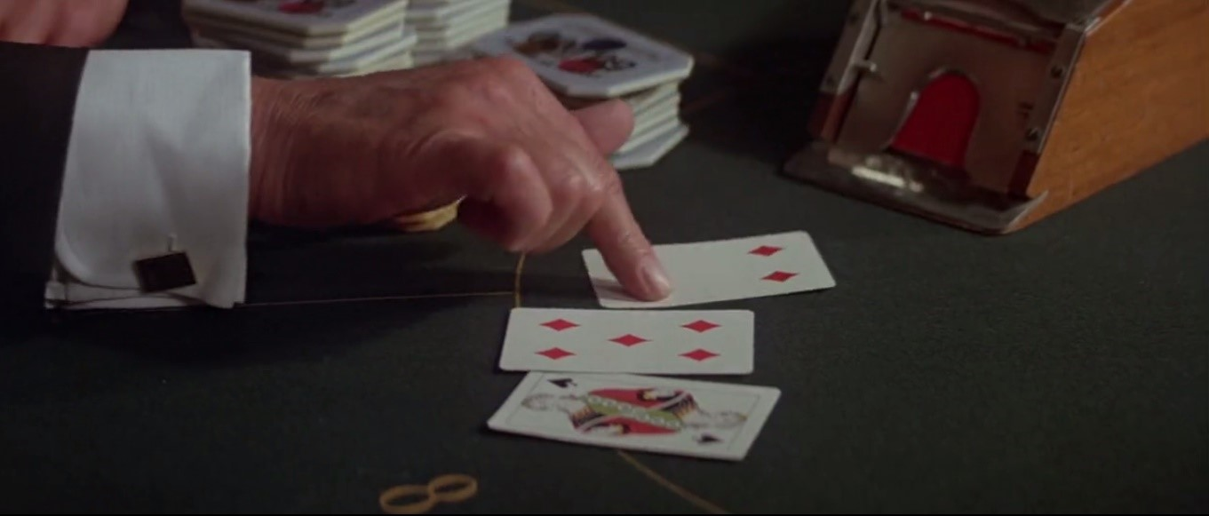 Bond drawing a four