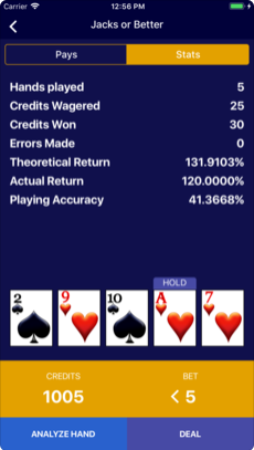 Video Poker Wizard 4