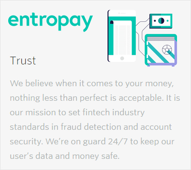 Entropay security
