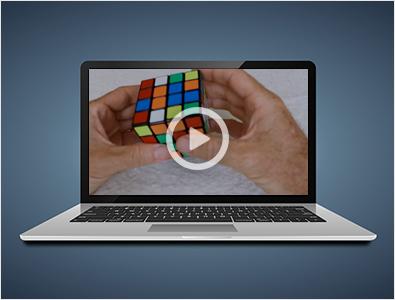Rubiks Cube video