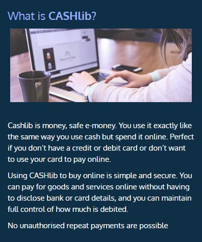 About CASHlib