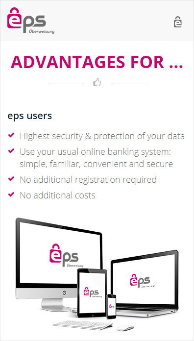 Advantages of Using EPS as an Online
