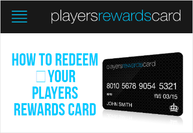 Players Rewards Card