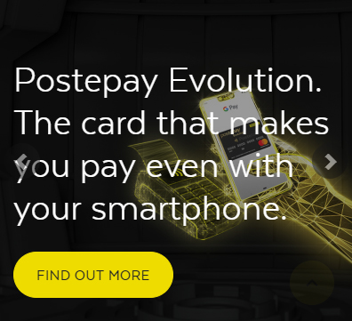 Types of Postepay Cards