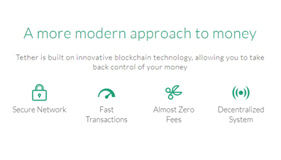 Advantages of Tether