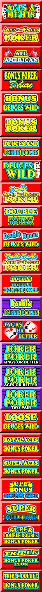 Single Hand Video Poker For Real Money Or Free Wizard Of