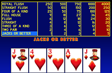 Single Hand Video Poker