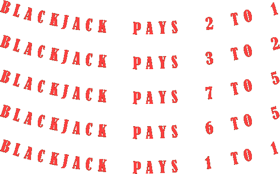 Blackjack flash cards