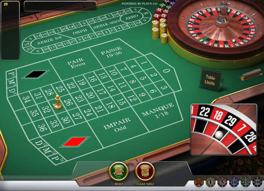 Roulette french to english