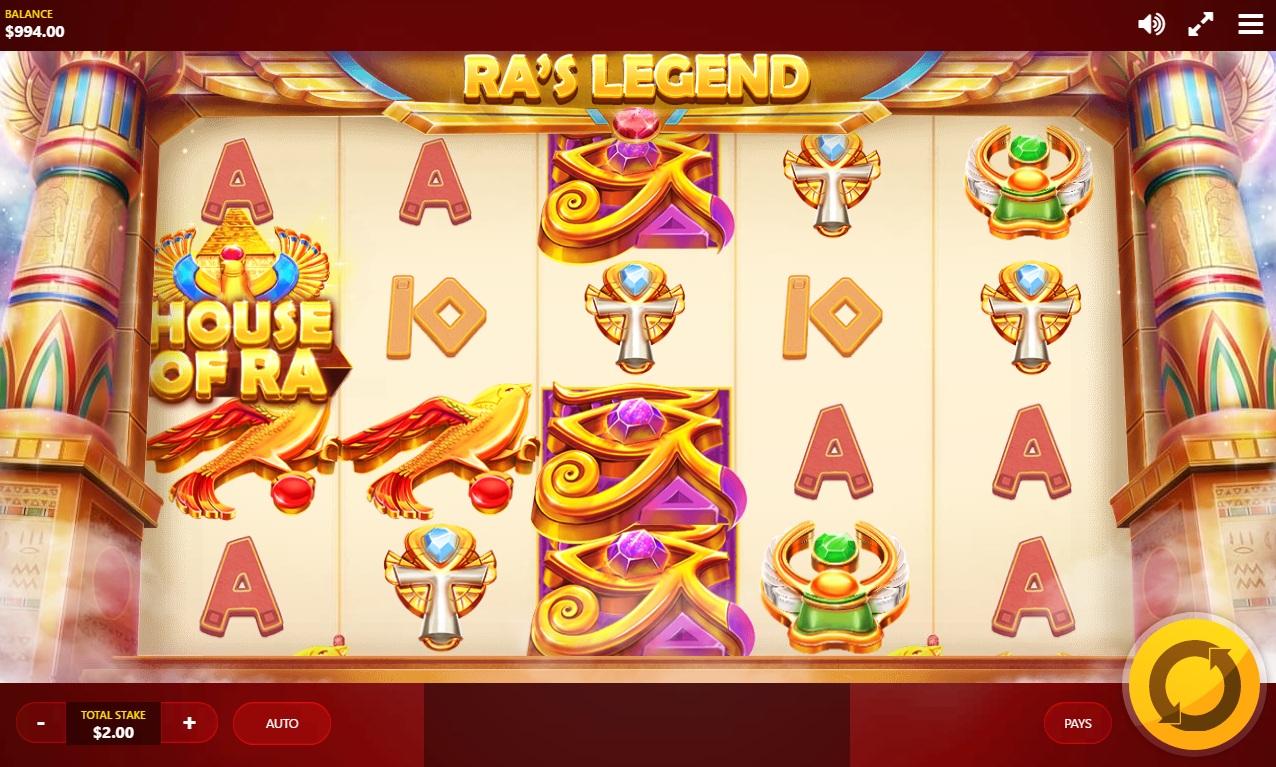 gambling slots online ra game