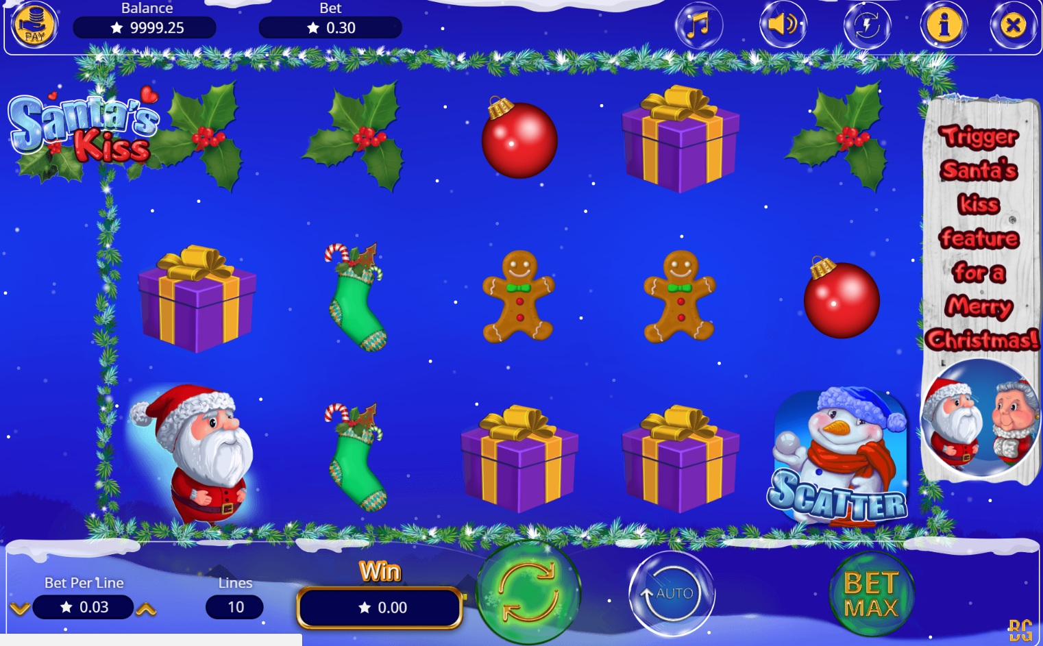 Santas Kiss Slot Machine Online ᐈ Booming Games™ Casino Slots