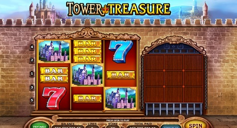 Tower Treasure Slot Machine