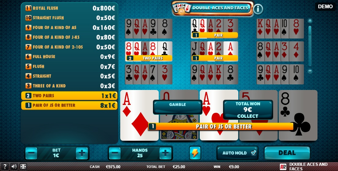 Spiele Aces And Eights (Red Rake Gaming) - Video Slots Online