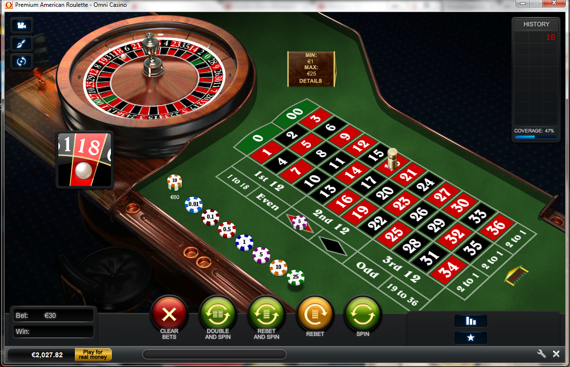 american roulette online free game