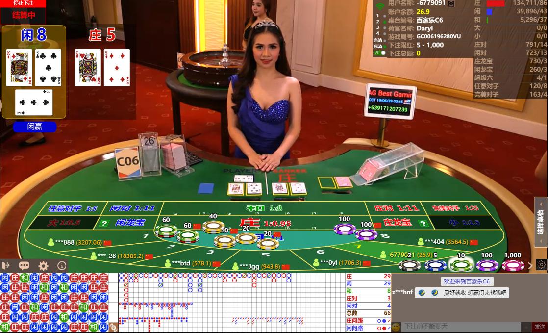 asia gaming baccarat