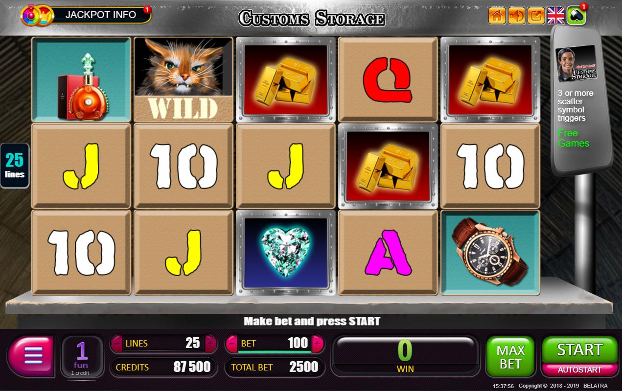 Franchise customs storage belatra casino slots express fever hacked