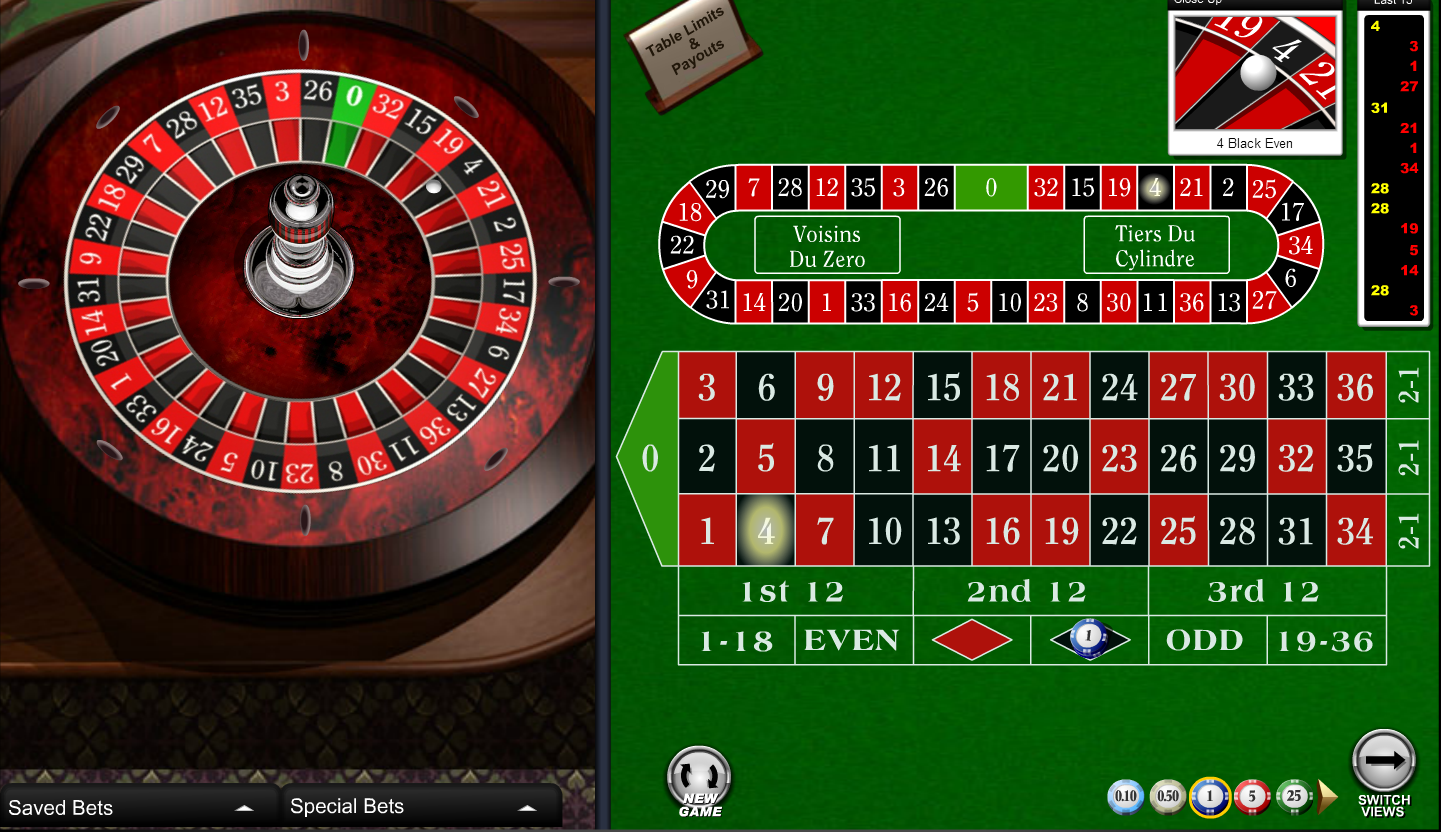 online casino roulette the gaming wizard