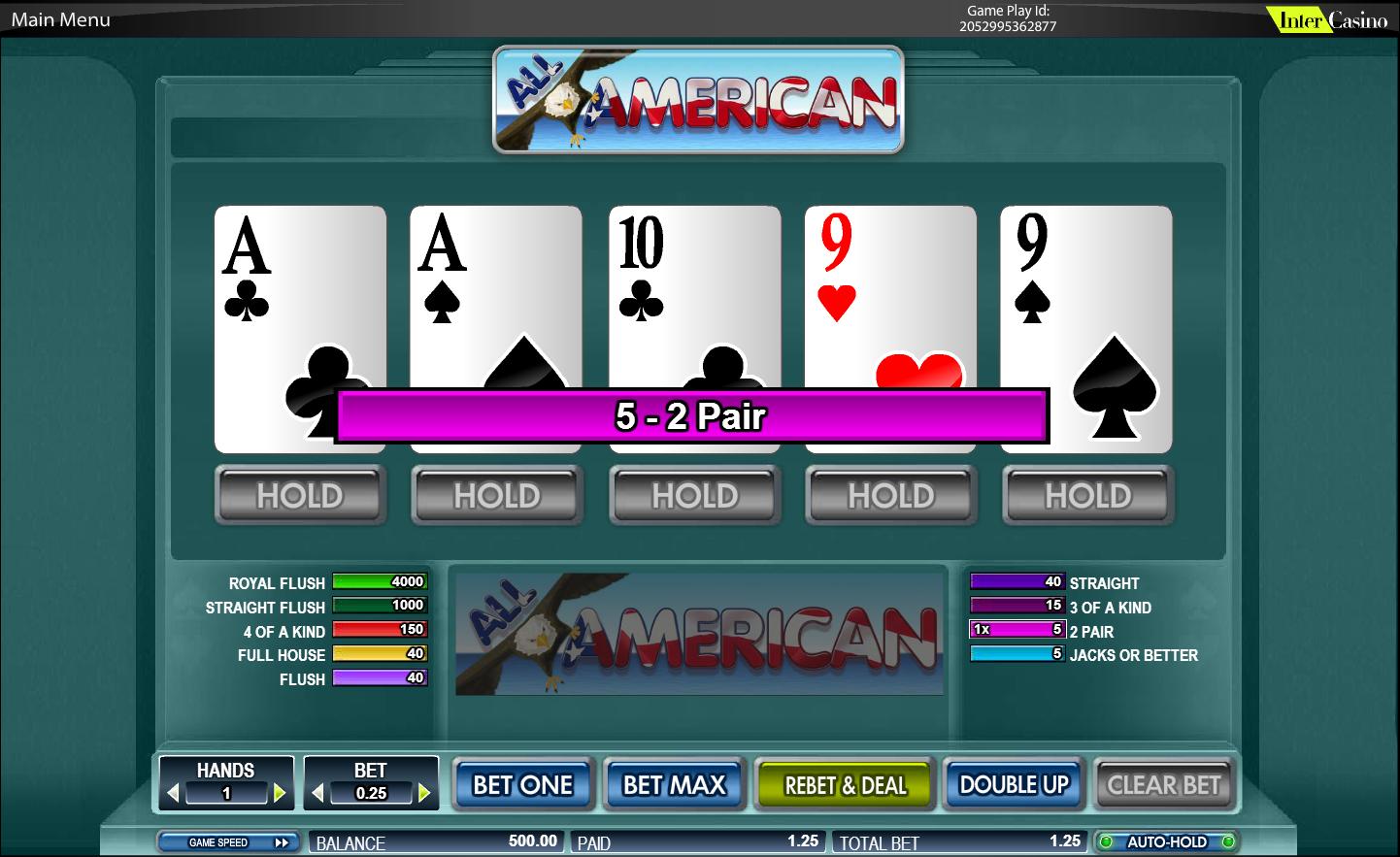 bwin online casino poker american