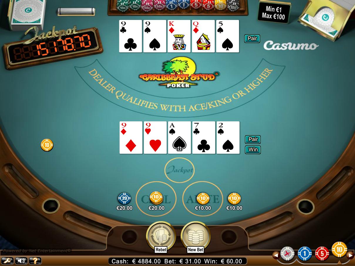 casino online 888 com caribbean stud