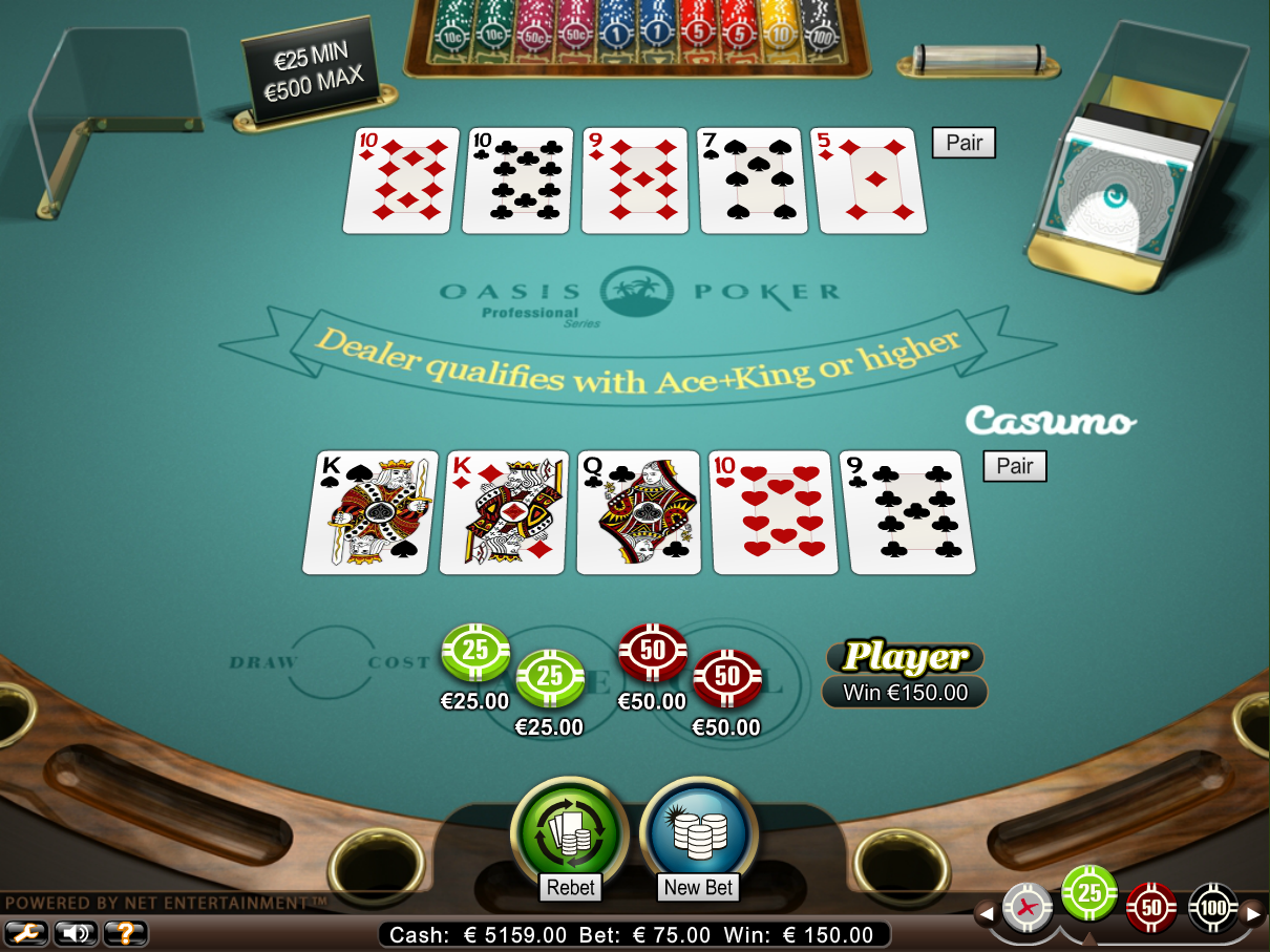 online casino video poker the gaming wizard
