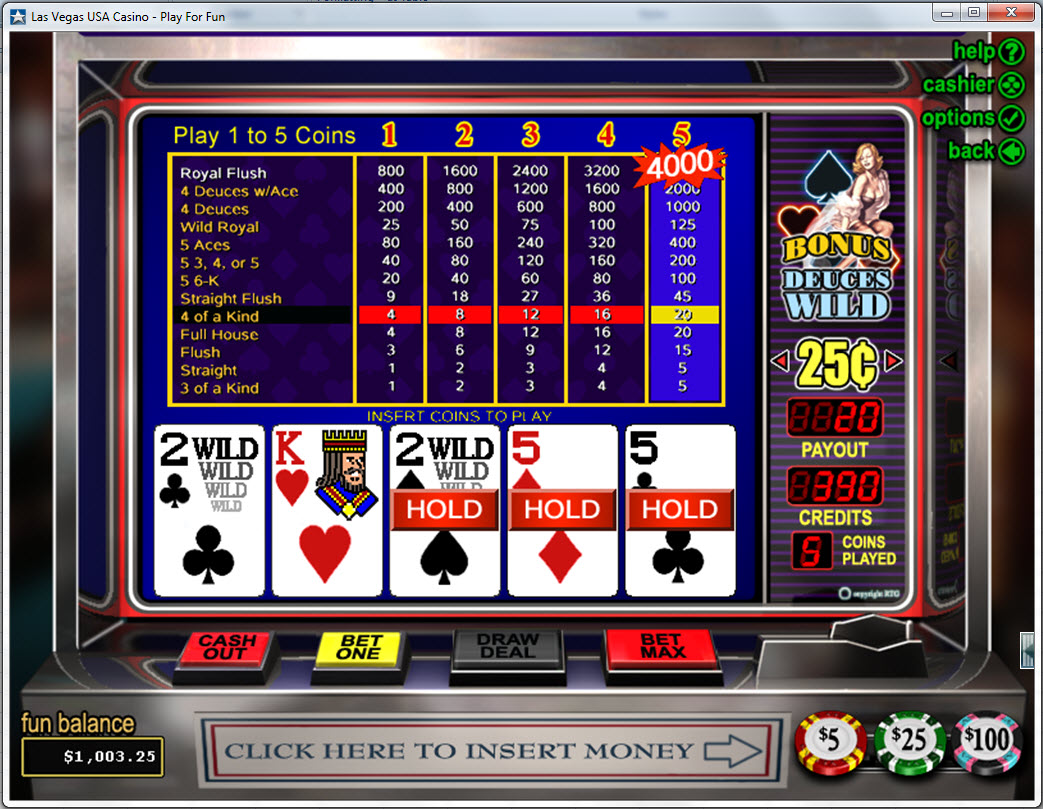 Slots video poker games free how to use martingale roulette