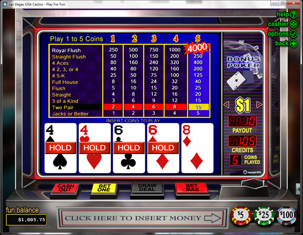 Poker free bonuses