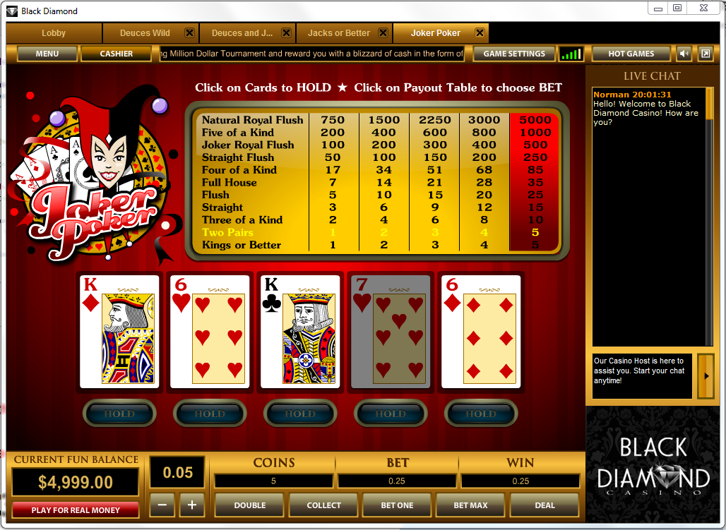 best online casino games poker joker