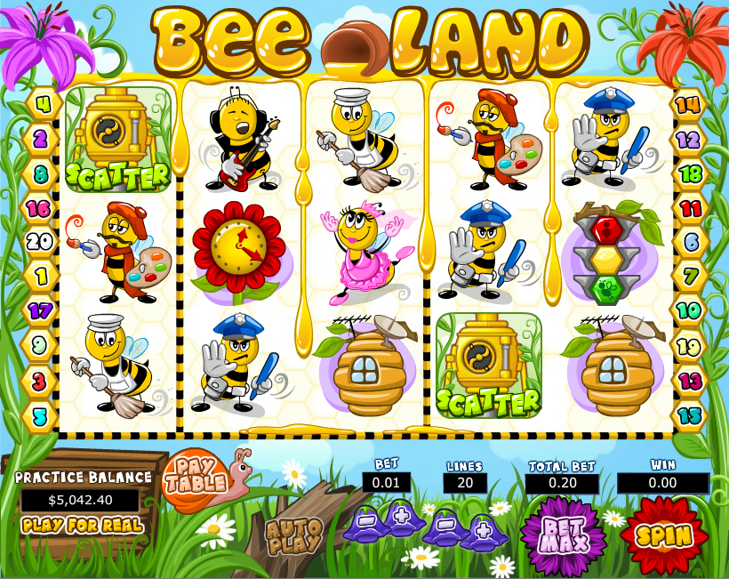 Queen Bee™ Slot Machine Game to Play Free in Gameplay Interactives Online Casinos