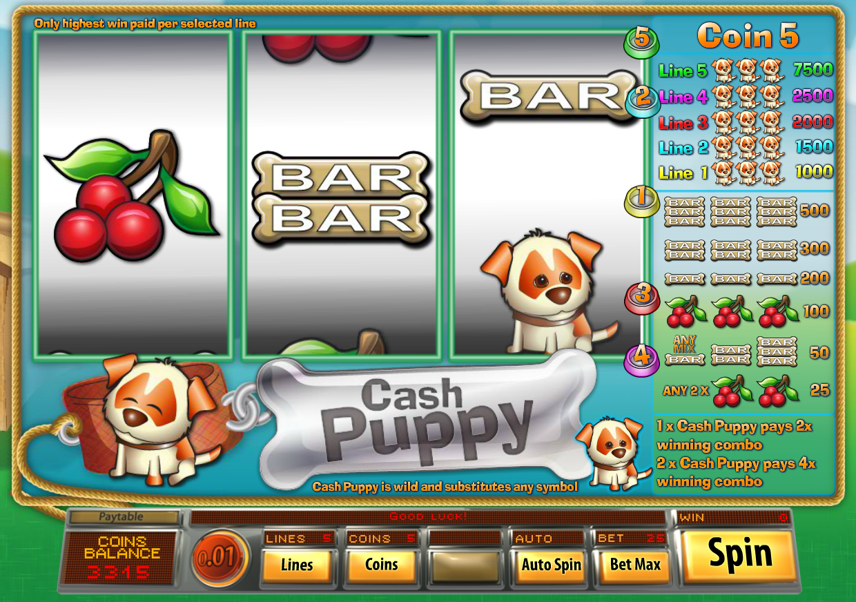 Puppy Payday Slots Online – Play for Free with No Downloads