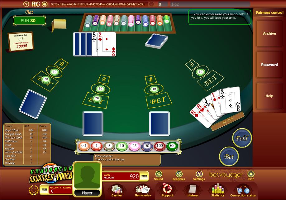 bet and win casino serios
