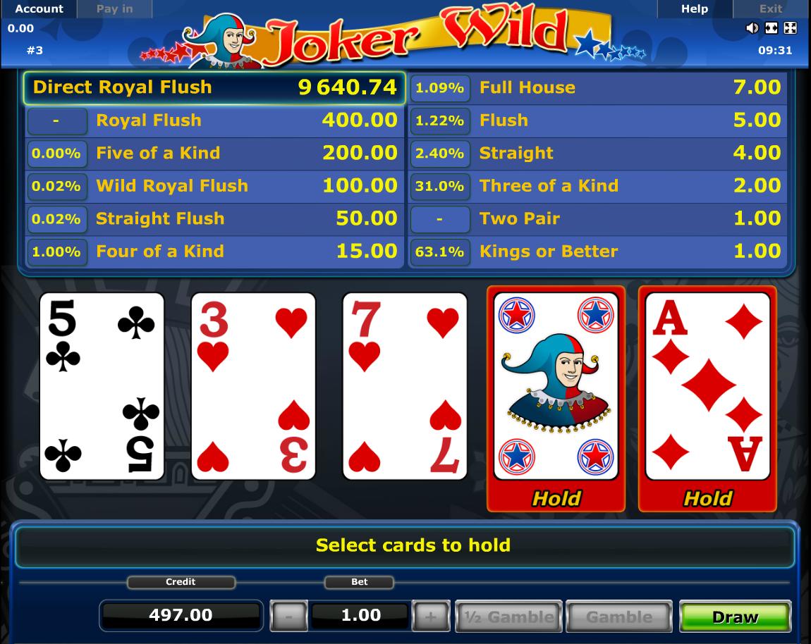 Blackjack odds software