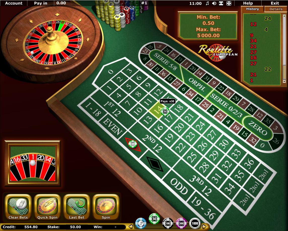 European casino online vulcan casino gaminator book