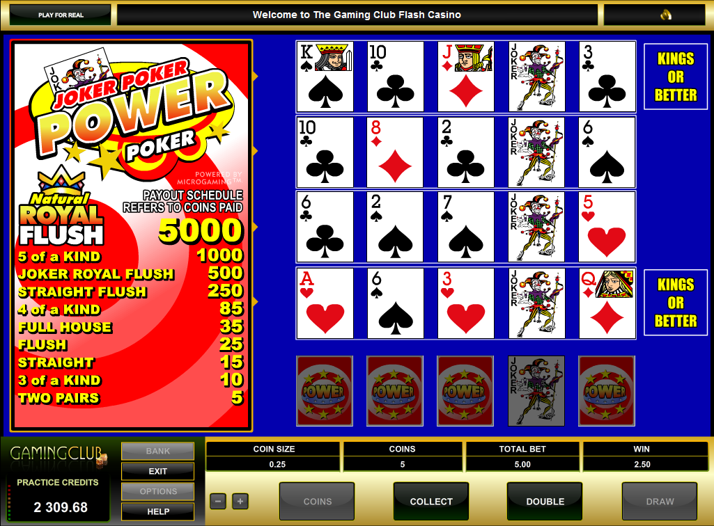 test online casino joker poker