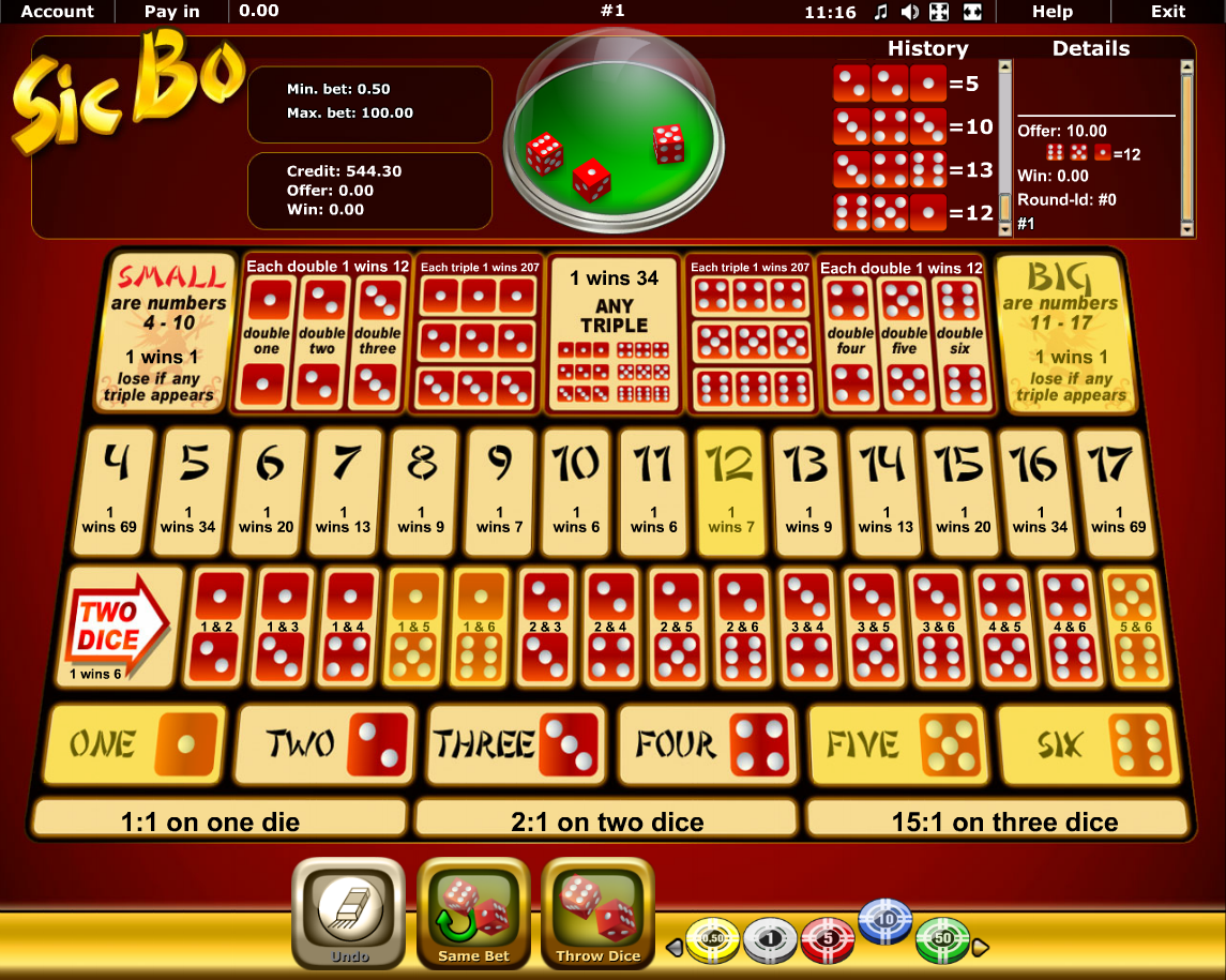 online casino reviews sic bo