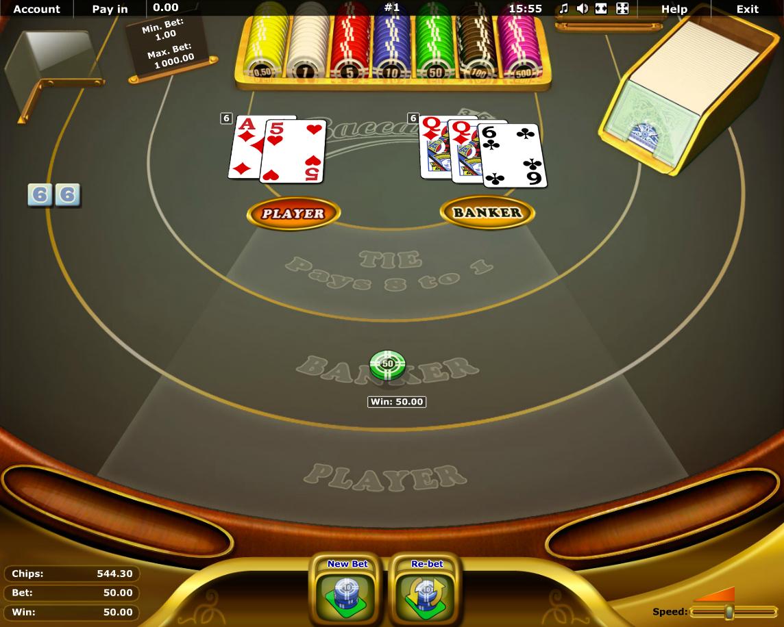 Baccarat kostenlos spielen | Online-Slot.de