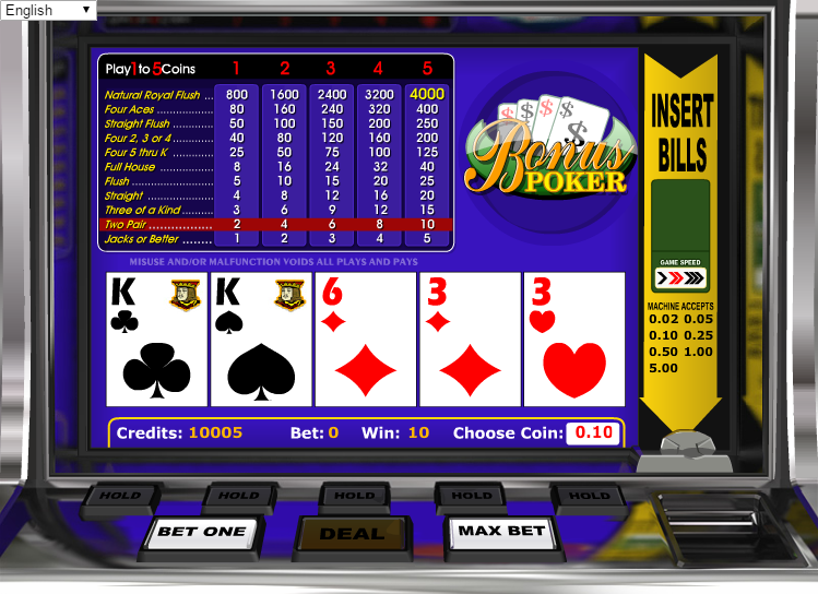 online slots bonus amerikan poker