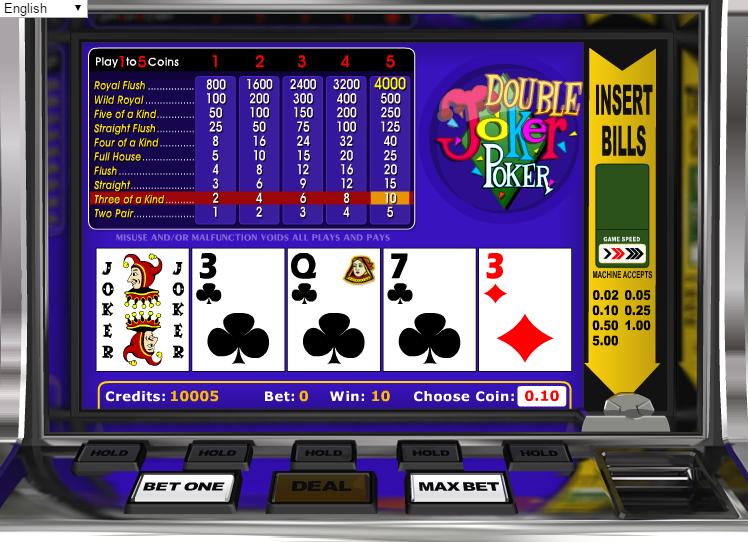casino online bonus poker joker