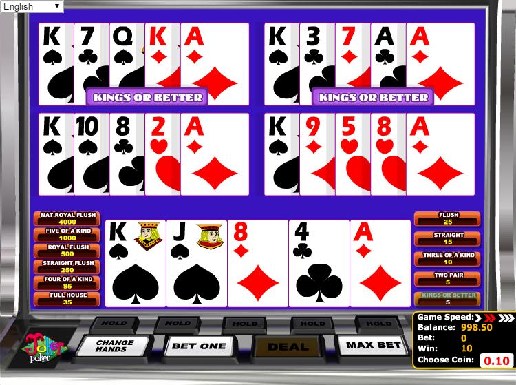 online casino for mac joker poker