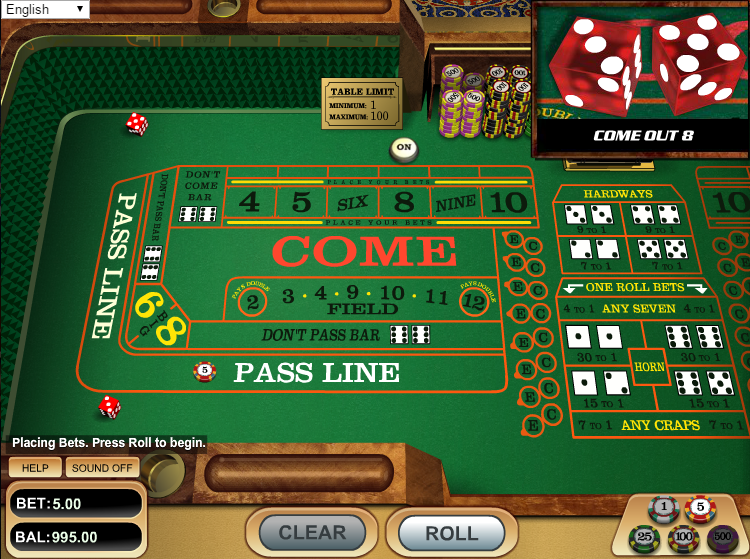 casino craps online wizards win