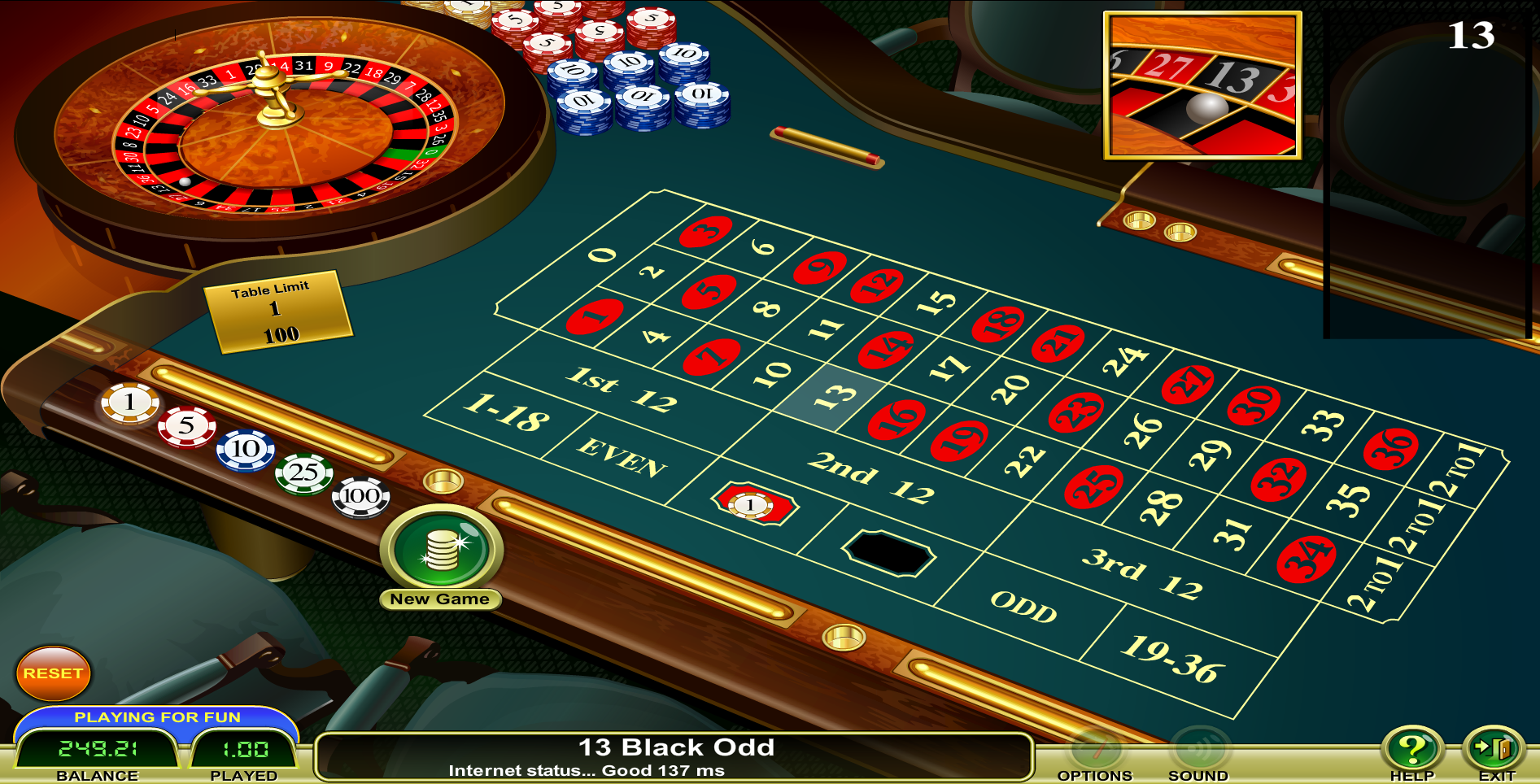 Play Multi Wheel Online Roulette at Casino.com Australia