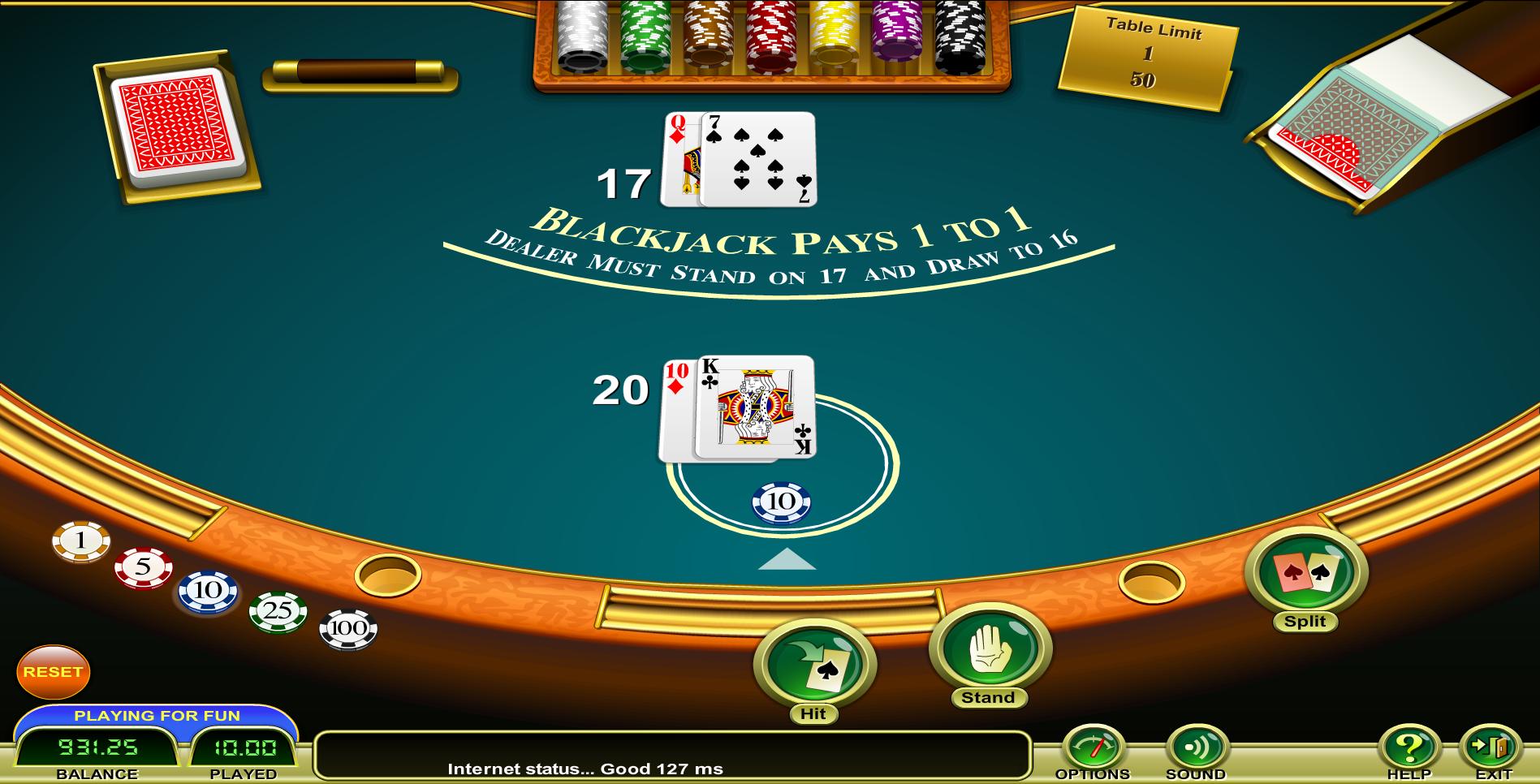 127 miljoen gambling free roulette no